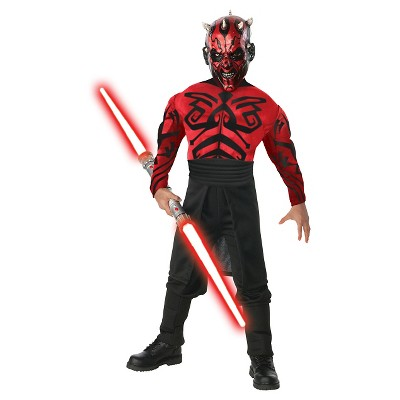 Star Wars Men's Darth Maul Muscle Costume