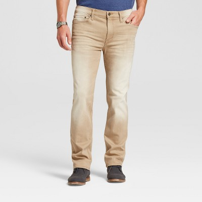 Men's Slim Straight Fit Jeans - Goodfellow & Co™ Tan