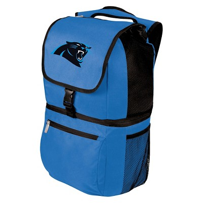 NFL Carolina Panthers Zuma Cooler Backpack by Picnic Time - Blue