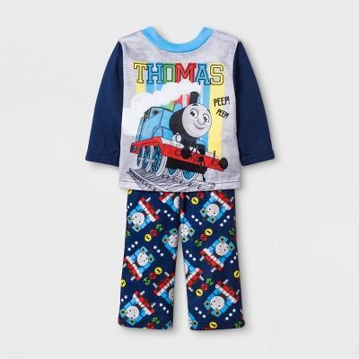 Baby Boys' Thomas & Friends 2pc Poly Pajama Set - Blue