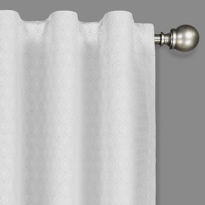 white thermal curtain liners target