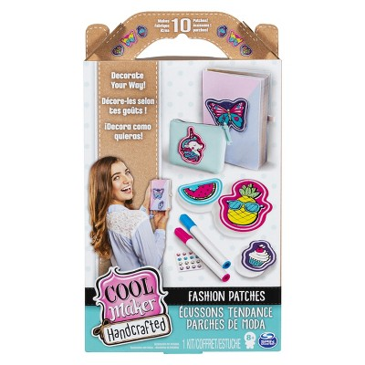 Cool Maker Handcrafted Fashion Patches Activity Kit Makes 10 Patches