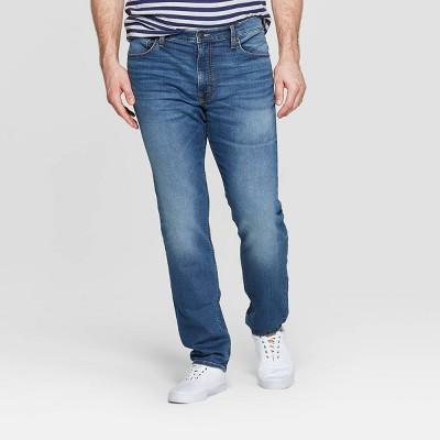 Men's Tall Skinny Fit Jeans - Goodfellow & Co™ Denim Blue