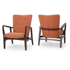 Upholstered Chairs With Wooden Arms Folding Chair Ebay Becker Arm Set Of 2 Christopher Knight Home