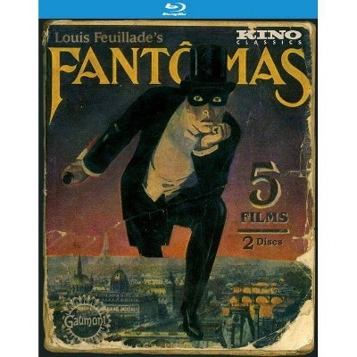 Fantomas: The Complete Saga (Blu-ray)