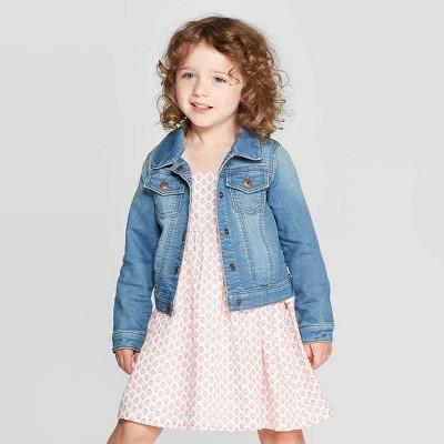 OshKosh B'gosh Toddler Girls' Denim Jacket - Blue