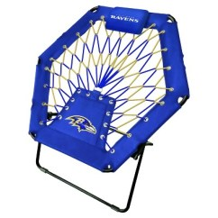 Bungee Chair Weight Limit Small Office Table And Set Nfl Imperial Premium Target