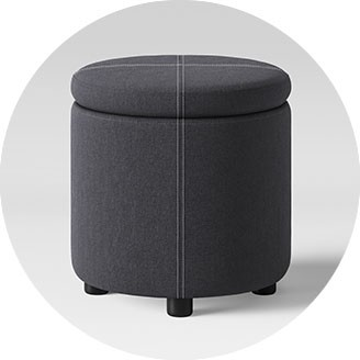 target round dorm chair dining covers dublin college room furniture ottomans desks chairs