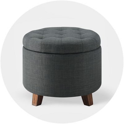 ottomans stools benches target