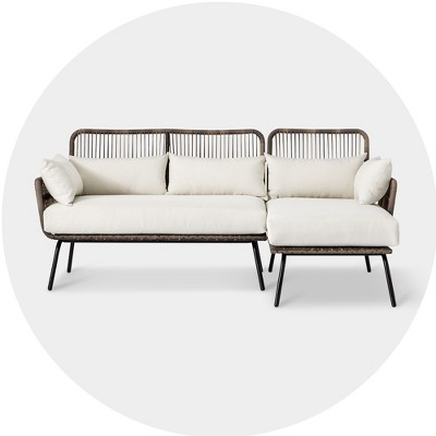 buy and save outdoor sectionals target