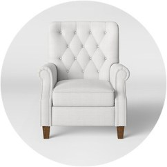 Accent Chairs Under 150 Round Back Living Room Target Recliner