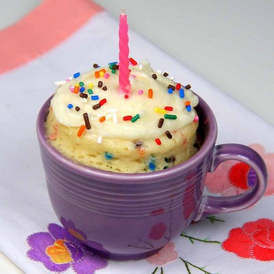 Happy Birthday Confetti Mug Cake Recipe Target Recipes