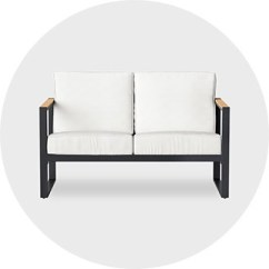 Modern Twine Curved Arm Sofa Muebles Mexico Cama Outdoor Living Target Patio Furniture