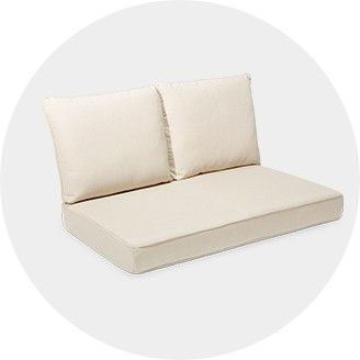 spotlight outdoor chair covers best gaming for adults cushions target loveseat