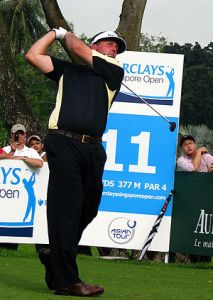 Phil Mickelson at 2007 Barclays Singapore Open