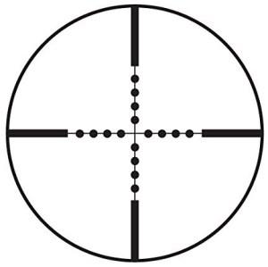 Barska 10 40×50 mil dot reticle