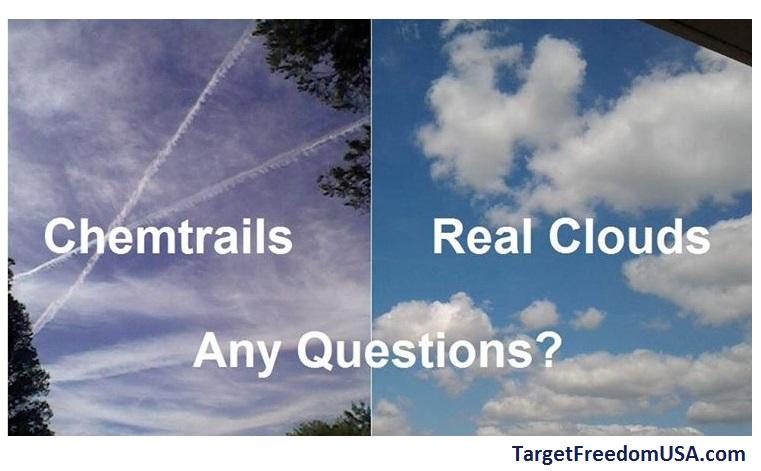 Chemtrails over Arizona