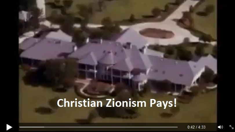 Christian Zionism Pays