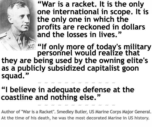 smedley-butler War is a Racket