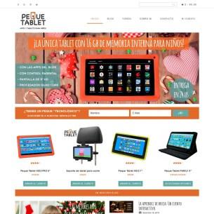Desarrollo Genesis WooCommerce - Peque Tablet