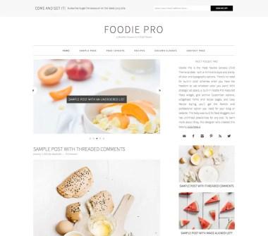 Genesis Foodie Pro Theme by StudioPress