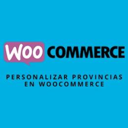 Modificar las provincias en WooCommerce