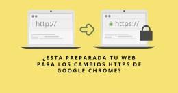 Cambios de HTTPS de Google Chrome – Está preparada tu web?