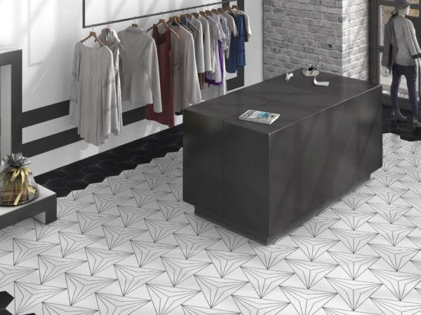 hexagon floor tiles free samples