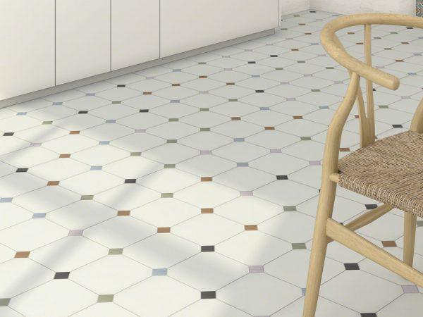 octagon floor tiles free delivery