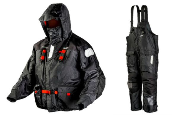 Frabill I-float suit icast 2016 target waleye 160720