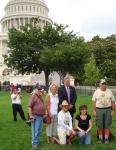 Mark Meadows and NC voters on W Lawn of Capital Bldg l. byless