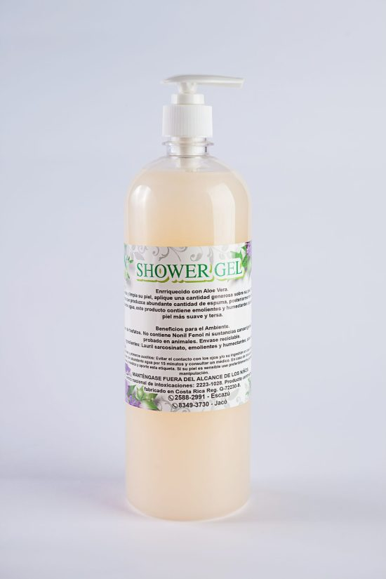 Shower gel biodegradable melon