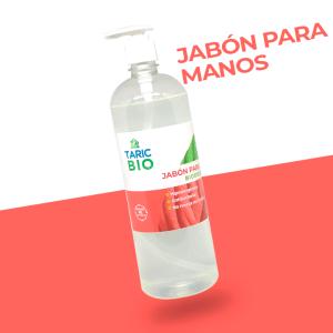 Jabón para manos biodegradable