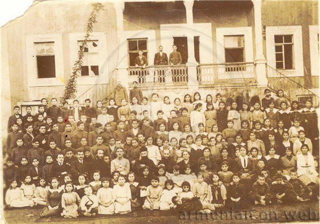 Ermeni Okulu Öğrencileri - Trabzon