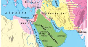 İslamiyet'in doğduğu sırada Arap Yarımadası ve çevresindeki devletler