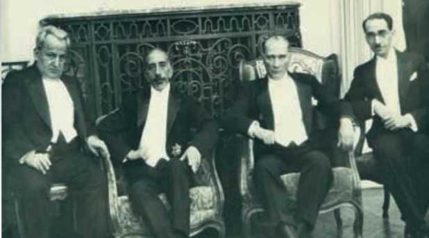 Atatürk ve Irak Kralı Faysal