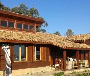 Las casas de madera