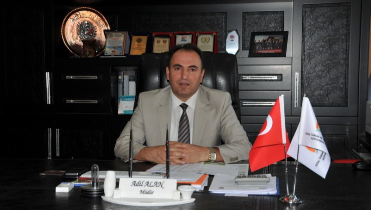 Adana İl Tarım ve Orman Müdürlüğü'ne Adil Alan Atandı