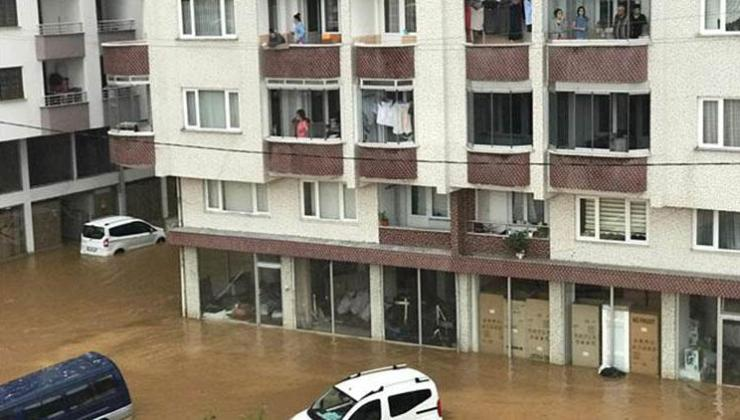Rize'de sel felaketi! Bakan Soylu: 1 kişi kayıp