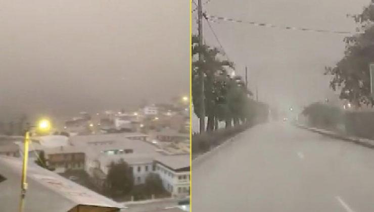 Ekvador'da felaket! Yanardağ Patladı