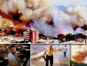 Yangınları PKK Terör Örgütü Üstlendi!