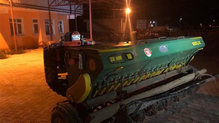 Traktöre Bağlı Tarım Aletine Çarpan Sürücü Öldü