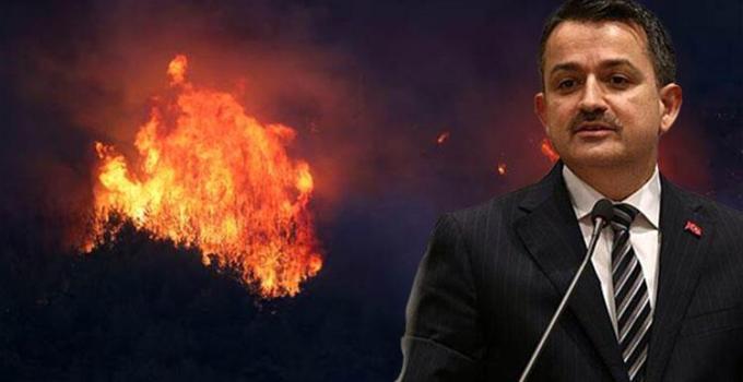 Son dakika: Bakan Pakdemirli duyurdu: Yangın desteklerinin ayrıntıları belli oldu!
