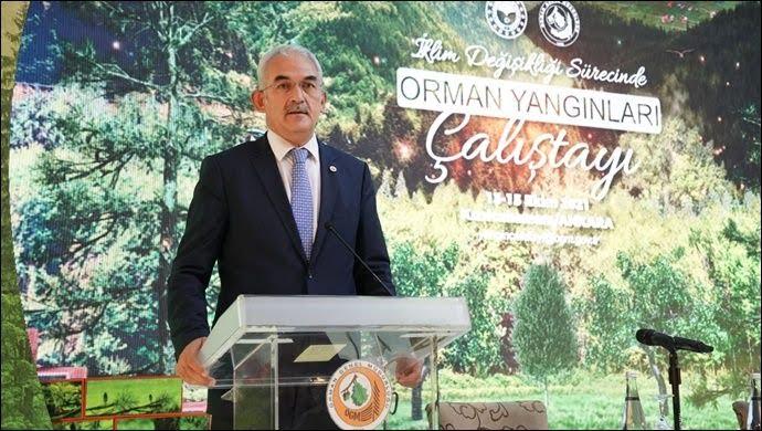 """Orman Genel Müdürü Bekir Karacabey: """"14 Bin Yangın Söndürme Gönüllüsünü 100 Bine Çıkarmayı Hedefliyoruz"""""""