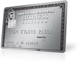 Tarjeta American Express Business Platinum