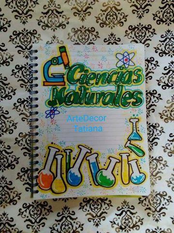 Portadas De Cuadernos Tumblr Ciencias Naturales