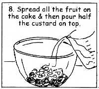 Fun Trifle recipe, Step by Step recipes for Kids