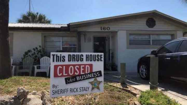 home owner charged with maintaining a dwelling has their home closed