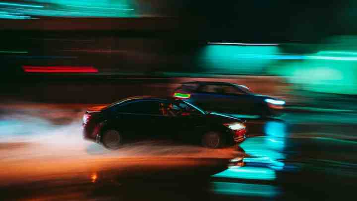 two cars racing, guilty of reckless driving and traffic ticket violations