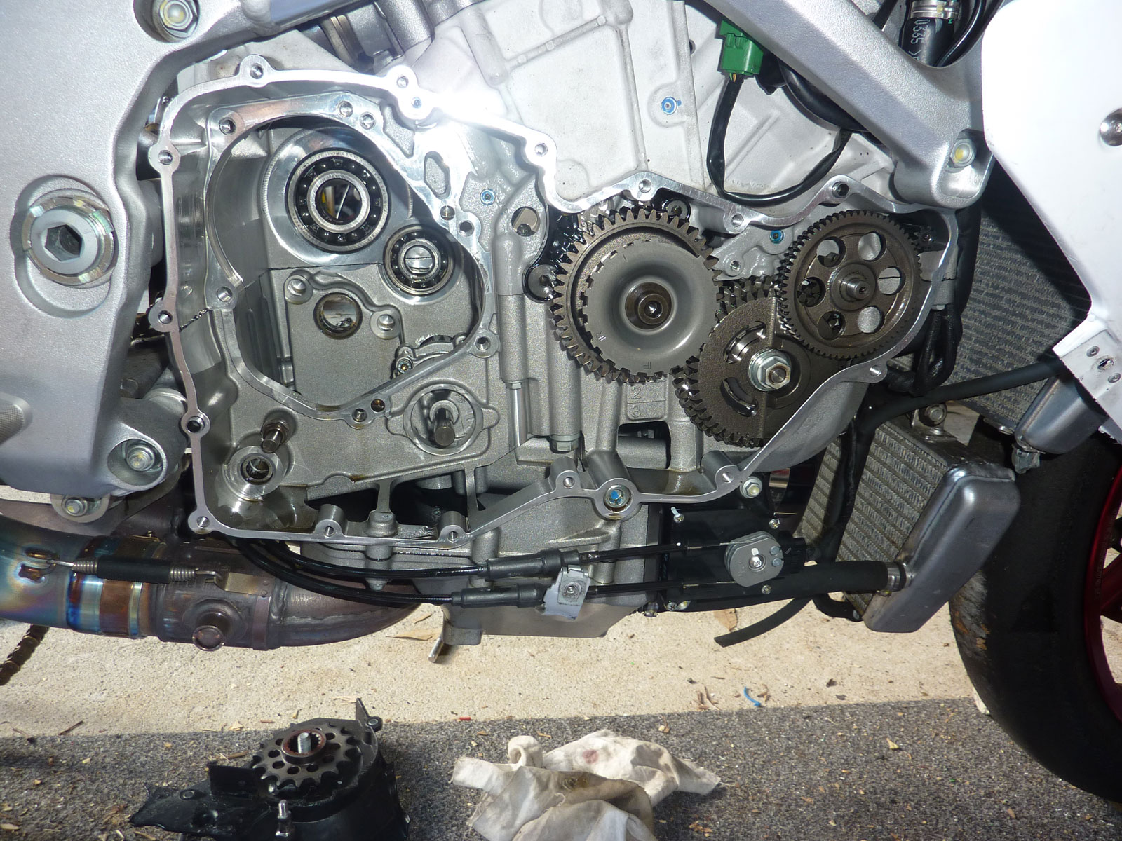 hight resolution of motorcycle gearbox problems